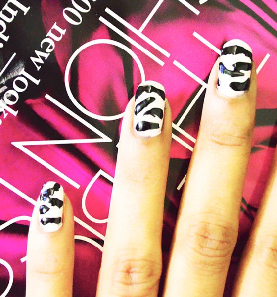 Nail Art : Zebra on my Nails!