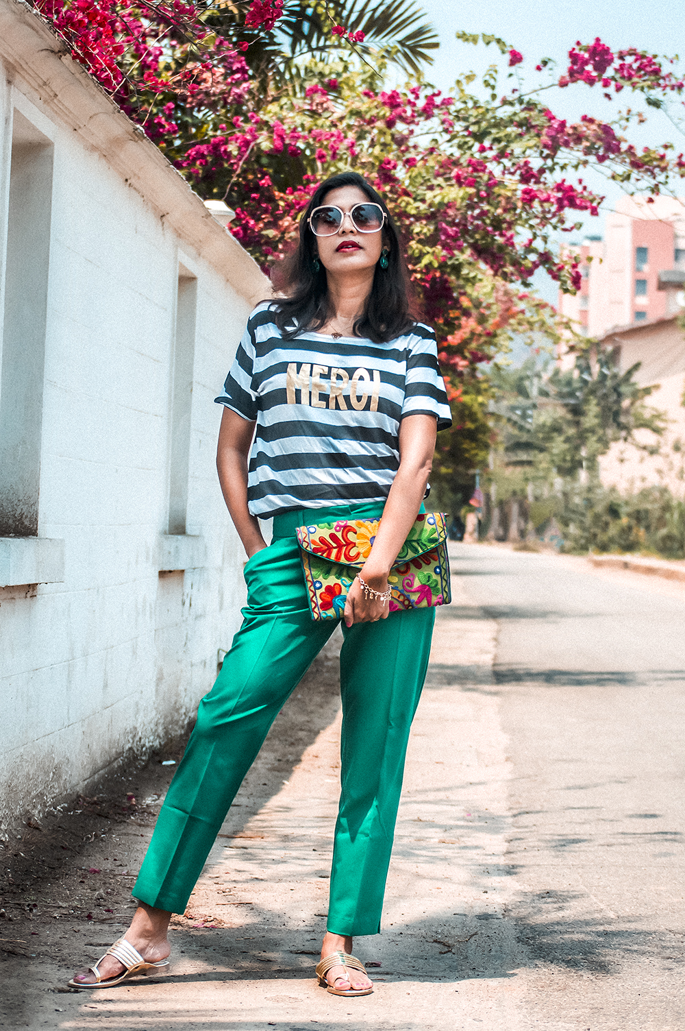 GREEN ANKLE GRAZERS, Fashion Blogger, Indian Fashion Influencer, Spring 2021, Spring Fashion, Lifestyle, Street style-1